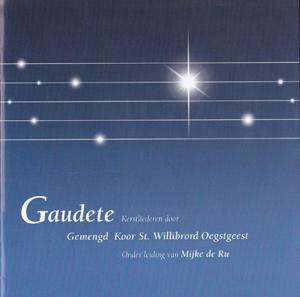 Kerst-cd die het Gemengd koor St. Willibrord opnam in eigen kerk in Oegstgeest (2005).